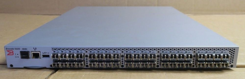 Brocade 5120 HD-5120-0004 40-Port Active 8Gb Fibre Channel SAN Switch + Licenses